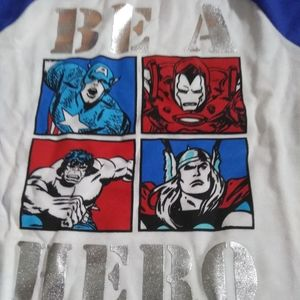 Marvel Shirts & Tops - Be a hero long sleeve shirt